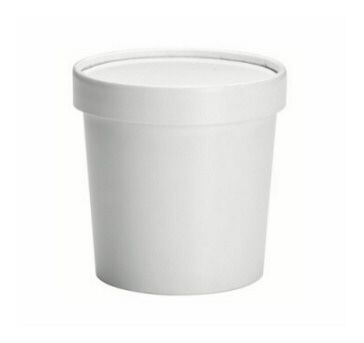 12oz Soup Container + LID x 50 Pack