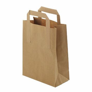 Brown Paper Carrier Bags - Large - 250