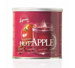 Cranberry Hot Apple Drink Tub 1 x 553g