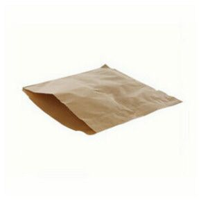 "Kraft Counter Food Bags 8.5"" x 8.5"""